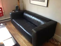 Ikea Jappling Chair Cover by Ikea Black Leather Sofa