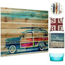 Bed Bath And Beyond Decorative Wall Clocks by 11 Surfing Inspired Style Options For Your Space Above
