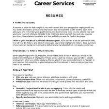 A Resume Sample 37 Unique Resume Summary For College Student W5q