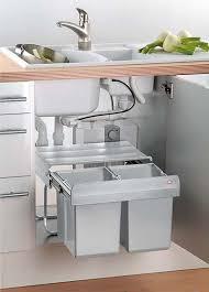 ausziehbarer mülleimer für küchenschrank unter spüle