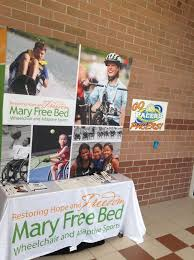 Mary Free Bed Orthotics by Jr Pacers Play In Home Wheelchair Basketball Tournament Mary