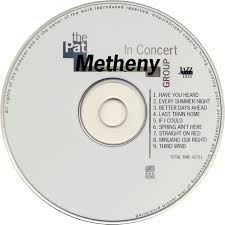 the pat metheny in concert usa 1992 1993 unofficial