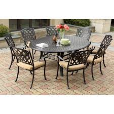 Darlee Patio Furniture Quality by Darlee Ocean View Aluminum 9 Piece Square Patio Dining Set Hayneedle
