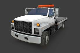 1992 GMC Top Kick Truck 3D Model