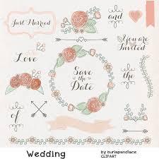 Free Rustic Wedding Clipart