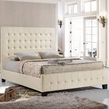 Queen Bed Frame For Headboard And Footboard by Modway Mod 5229 Ivo Set Skye Queen Bed Frame W Tufted Ivory