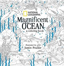 National Geographic Magnificent Ocean A Coloring Book 9781426218163 Hr