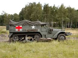 100 1940 Trucks White M3 Halftrack Ambulance Truck Trucks Military G Wallpaper