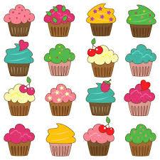 Cupcakes Clip Art Clipart by Pink Pueblo