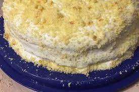 schichtkuchen mit sahne milchmädchen füllung