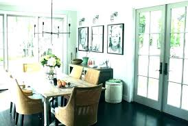 Dining Room French Doors In
