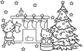 Christmas Tree Coloring Page Print by Holiday Christmas Pictures To Print For Free Christmas Coloring