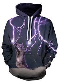 cat hoodies beloved shirts lightning cat hoodie premium all print