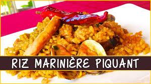 cuisine avec du riz recette du riz marinière piquant en cuisine avec