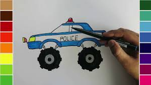 Police Monster Truck Coloring Pages | Free Coloring Pages How To Draw Monster Truck Bigfoot Kids The Place For Little Drawing Car How Draw Police Picture Coloring Book Monster For At Getdrawingscom Free Personal Use Drawings Google Search Silhouette Cameo Projects Pin By Tammy Helton On Party Pinterest Pages Racing Advance Auto Parts Jam Ticket Giveaway Pin Win Awesome Hot Rod Pages Trucks Rose Flame Flowers Printable Cars Coloring Online Disney Printable
