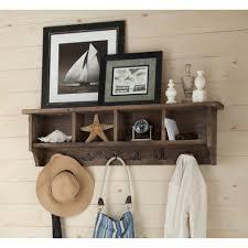 Home Depot Decorative Shelves by Birch Wall Mounted Shelves Decorative Shelving The Home Depot