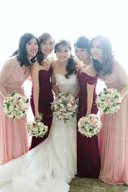 Maroon Pink Enderun Wedding
