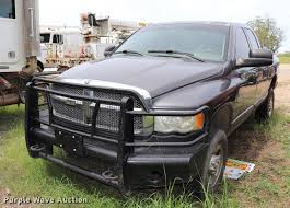 100 46 Dodge Truck 2004 Ram 2500 SLT Quad Cab Pickup Truck Item DK95