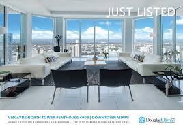 100 Penthouse Story JUST LISTED Vizcayne PH 4908 With Rooftop Terrace And