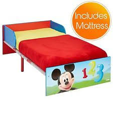 Mickey Mouse Clubhouse Toddler Bed by Mickey Mouse Toddler Bed Ebay