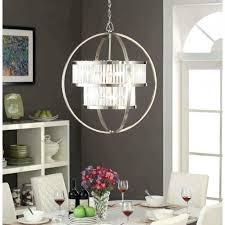 Large Modern Dining Room Light Fixtures by Chandelier Hanging Ceiling Lights Sphere Light Fixture