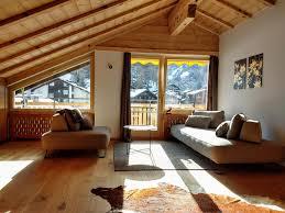 chalet style apartment with matterhorn view zermatt