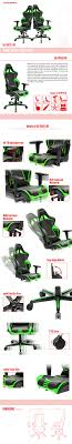 DXRacer OH/RV131/NE Racing Series High End Gaming Chair ...