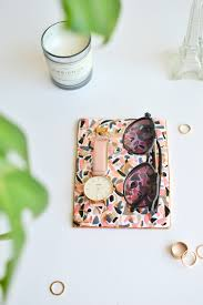make terrazzo tile from clay