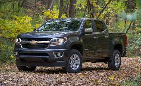 100 Chevy Truck 4x4 2017 Chevrolet Colorado V6 8Speed Automatic Crew Cab Test
