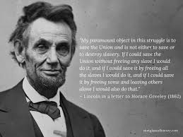 Abraham Lincoln Quote On Slavery And The Civil War