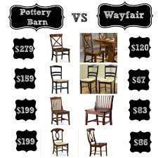 Decor Look Alikes | Pottery Barn Vs Wayfair : Dining Chairs. Keep ... Holiday Decor Gift Ideas Pottery Barn Edition All My Favorites Wooden Doll House Play Set Fniture Trade Me Why I Ditched For Diy Can Make In My Madison Avenue Spy Brands Friends And Family Sale 25 Unique Barn Hacks Ideas On Pinterest Style Door Track For Under 60 Style Doors Placement Announcing A New Project Cribs Splurge Vs Save Lifes Tidbits Reclaimed Wood Maxatonlenus Kids Baby Bedding Gifts Registry Home Office Trendy Pottery Office Fniture Used