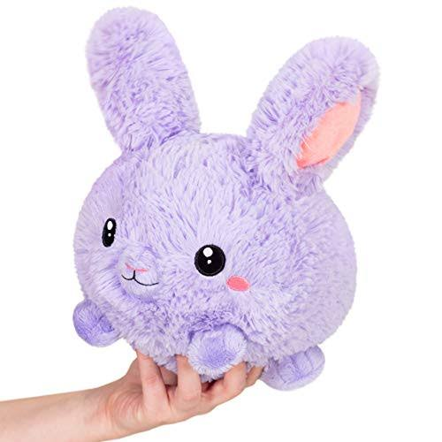 Squishable / Mini Purple Fluffy Bunny - 7""