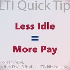 100 Lti Trucking Remember Less Idle More Pay LTI Services Facebook