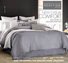 Kenneth Cole Reaction Bedding by Bed Bath And Beyond Casual Comfort With Kenneth Cole Reaction