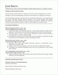 Physical Education Teacher Resume Sample Resumes Misc LiveCareer