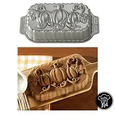 Nordic Ware Pumpkin Loaf Pan by Fall Desserts Made With Our Top Picks Bread Pans And Cookie Cutters