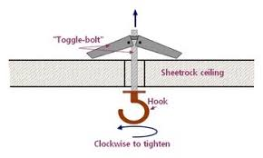 Ceiling Joist Spacing For Gyprock by How To Reinforce A Ceiling Hook Home Improvement Quora