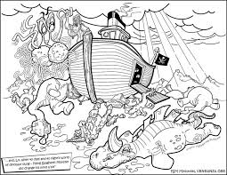 Noah Coloring Page And The Ark Pages Eassume Download