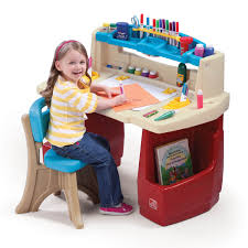 Crayola Wooden Table And Chair Set Uk by Amazon Com Step2 Deluxe Art Master Kids Desk Toys U0026 Games