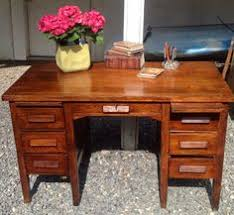 uhuru furniture collectibles sold oak teacher s desk 75