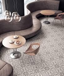 Leon I A versatile patterned concrete tile with a neutral brown