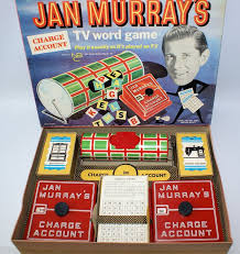 Vintage 1961 JAN MURRAYS NBC TV Word Board Game By Lowell Toy Corp