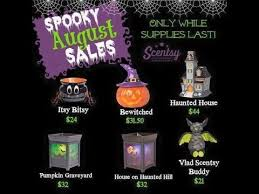 Pumpkin Scentsy Warmer 2015 by Haunted Mansion Scentsy Warmer August Specials Of The Month