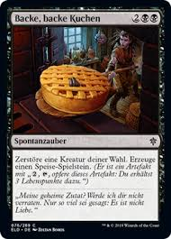 backe backe kuchen throne of eldraine gatherer magic