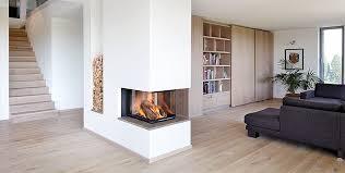 wohnzimmer mit kamin modern hause modernes design kamin