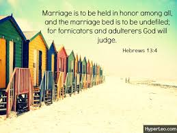 The Marriage Bed Is Undefiled by 30 Bible Verses About Adultery And Lust With Images