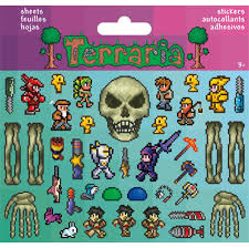 Terraria Halloween Event by Sticker Pack Terraria Eye Of Cthulhu 2 Sheets U2013 Party Majors