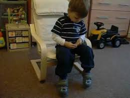 Ikea Poang Rocking Chair Weight Limit by I U0026k Ikea Poäng Children U0027s Armchair First Time Youtube