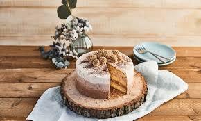 kleine ombré torte mit giotto