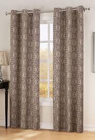 Lichtenberg Curtains No 918 by Henna Thermal Lined Grommet Panel Wine S Lichtenberg View
